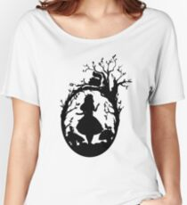 Silhouette - Alice In Wonderland Women's Relaxed Fit T-Shirt