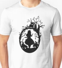 Silhouette - Alice In Wonderland T-Shirt