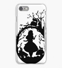 Silhouette - Alice In Wonderland iPhone Case/Skin