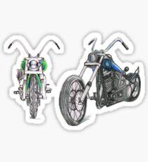 Dual cruising RH Sticker