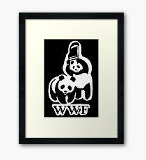 WWF panda parody Framed Print