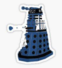 Tardis Dalek  Sticker