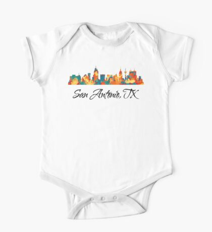 San Antonio Texas Skyline Kids Clothes