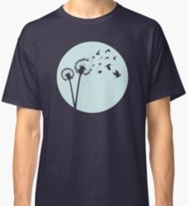 Dandelion Bird Flight Classic T-Shirt