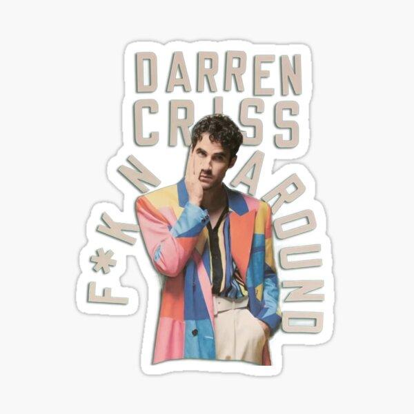 Juste F * KN autour de Darren Criss Sticker