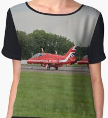Red Arrows Women's Chiffon Top