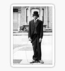 MJ - Charlie Chaplin Sticker