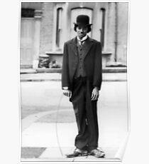 MJ - Charlie Chaplin Poster