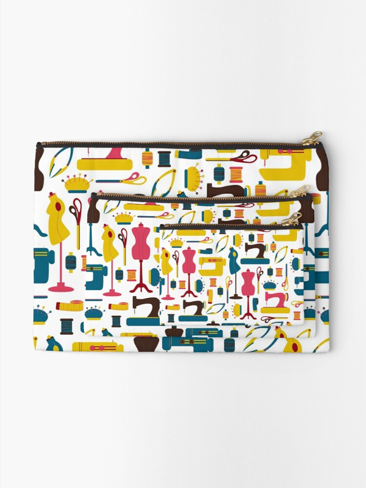 Alternate view of Sewing Accessories Zipper Pouch