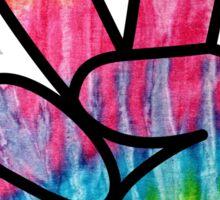 Tie-Dye Peace! Sticker