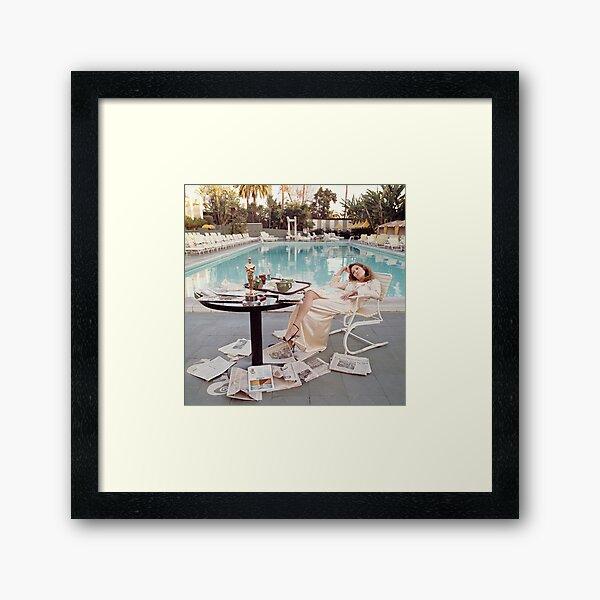 Faye-Dunaway Framed Art Print