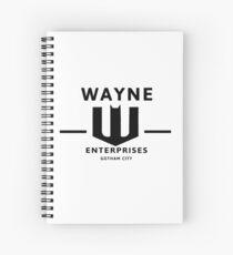 WAYNE ENTERPRISES [HD] Spiral Notebook