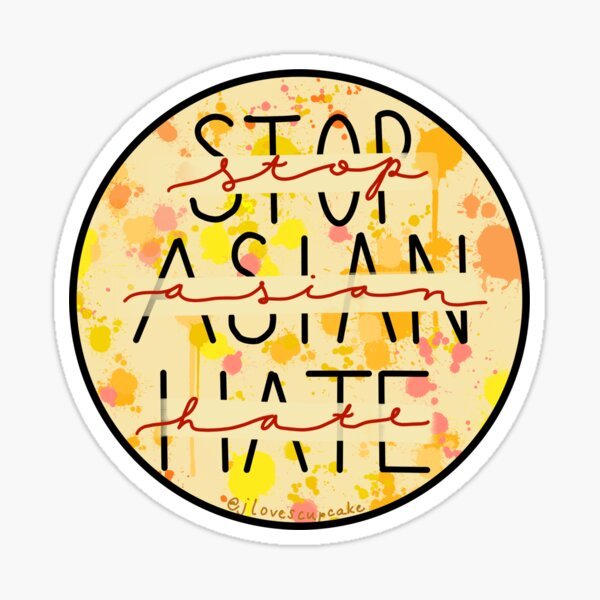 Stop Asian Hate Sticker