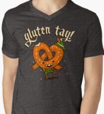 Gluten Tag! Men's V-Neck T-Shirt