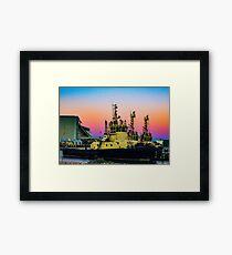 Geraldton Port Framed Print