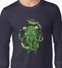 Sir Charles Cthulhu Long Sleeve T-Shirt