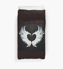 Angel wings heart Duvet Cover