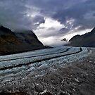 aletsch glacier by paolo amiotti