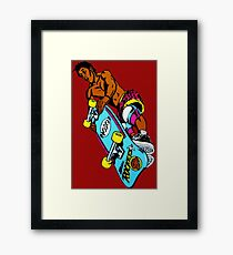 Christian Hosoi Rocket Air Framed Print