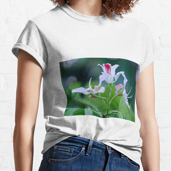 Bauhinia Monandra (Pink Orchid Tree) Flower Cluster Classic T-Shirt
