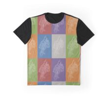 Outline Array Graphic T-Shirt