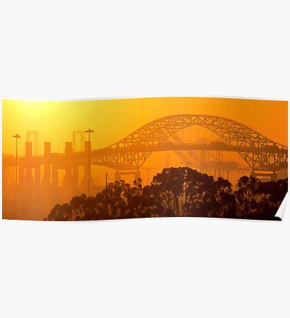 Steel Sunset Poster