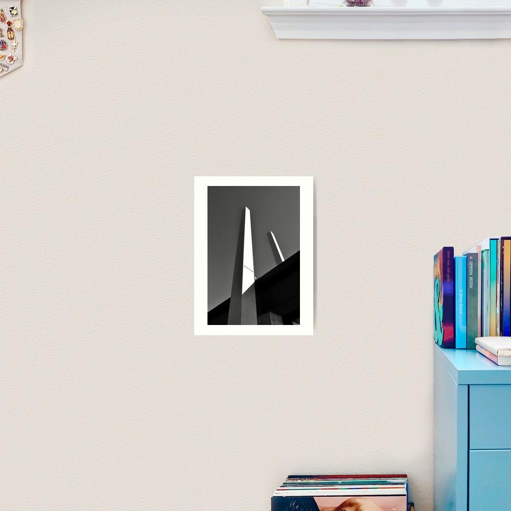 Upwards & Onwards Art Print