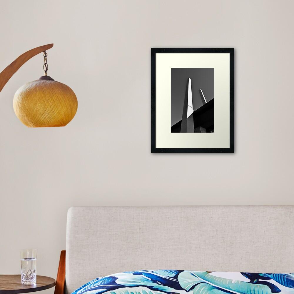Upwards & Onwards Framed Art Print
