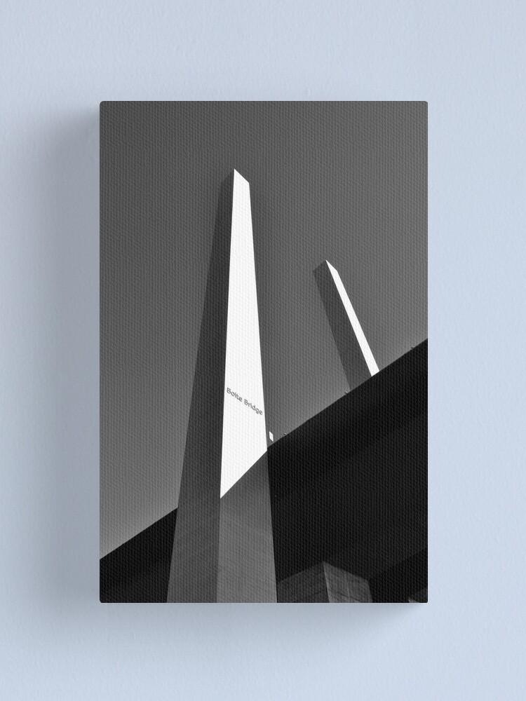 Alternate view of Upwards & Onwards Canvas Print