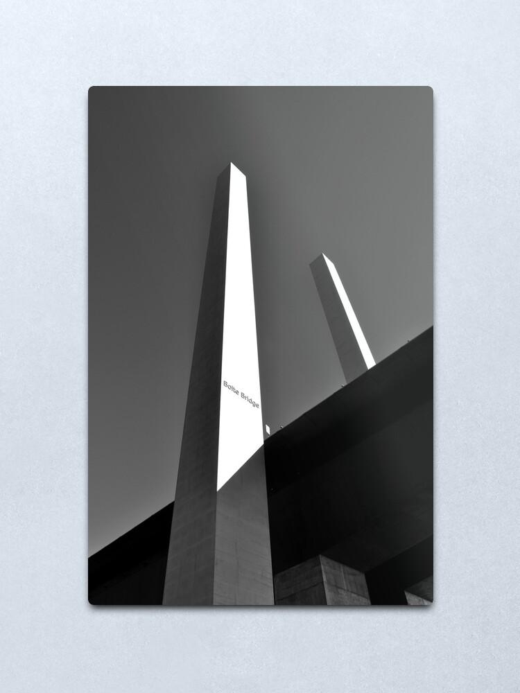 Alternate view of Upwards & Onwards Metal Print