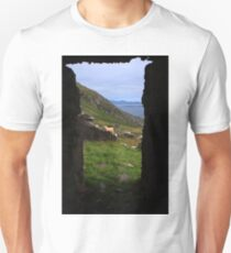 View From A Lighthouse Ruin  T-Shirt