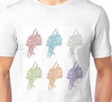 Primary Colours Abstract Unisex T-Shirt