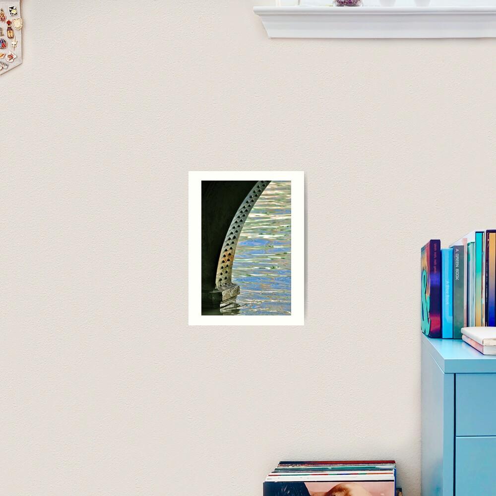 Rivets & Ripples Art Print