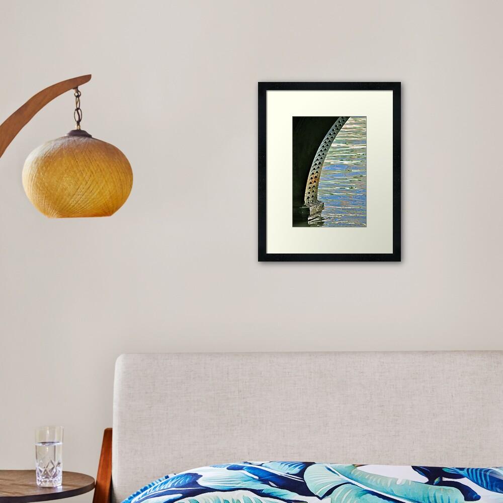 Rivets & Ripples Framed Art Print