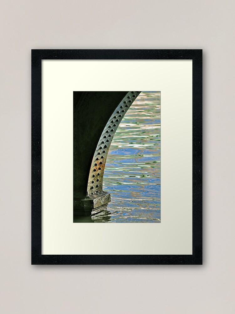Alternate view of Rivets & Ripples Framed Art Print