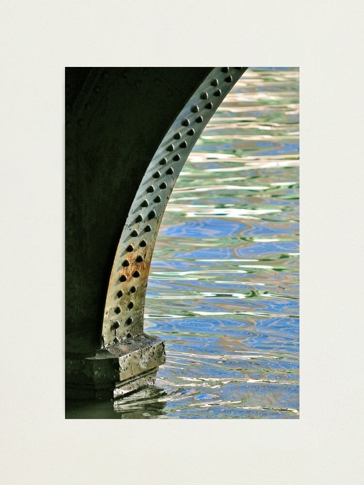Alternate view of Rivets & Ripples Photographic Print
