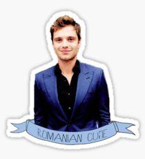 Romanian Angel Sticker