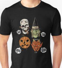 Say You Love Satan 80s Horror Podcast Logo 2 T-Shirt