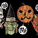 Say You Love Satan 80s Horror Podcast Logo 2 by sayyoulovesatan