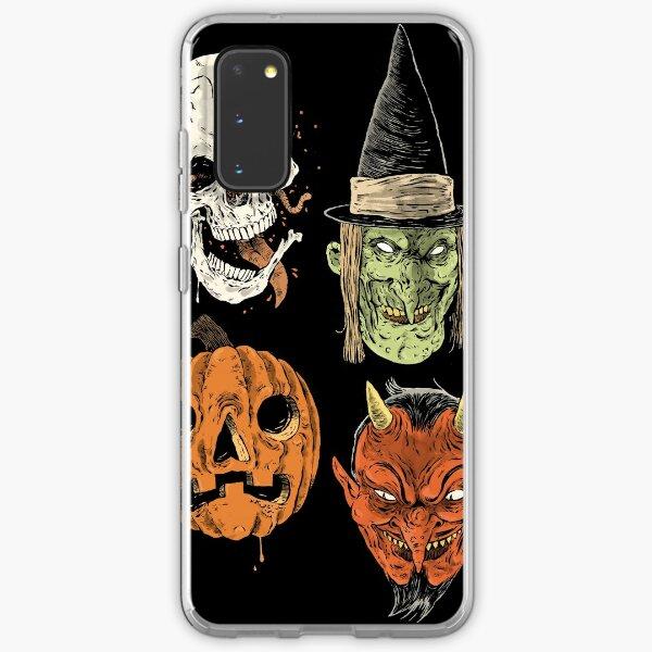 Say You Love Satan 80s Horror Podcast Logo 2 Samsung Galaxy Soft Case