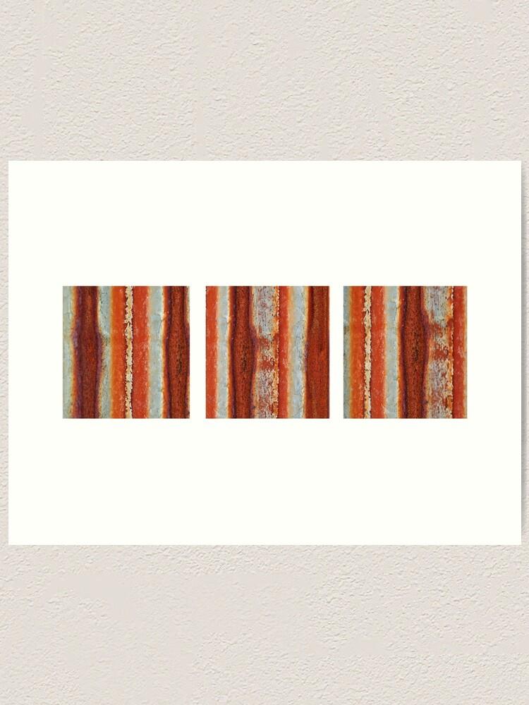Alternate view of Rivers of Rust Art Print