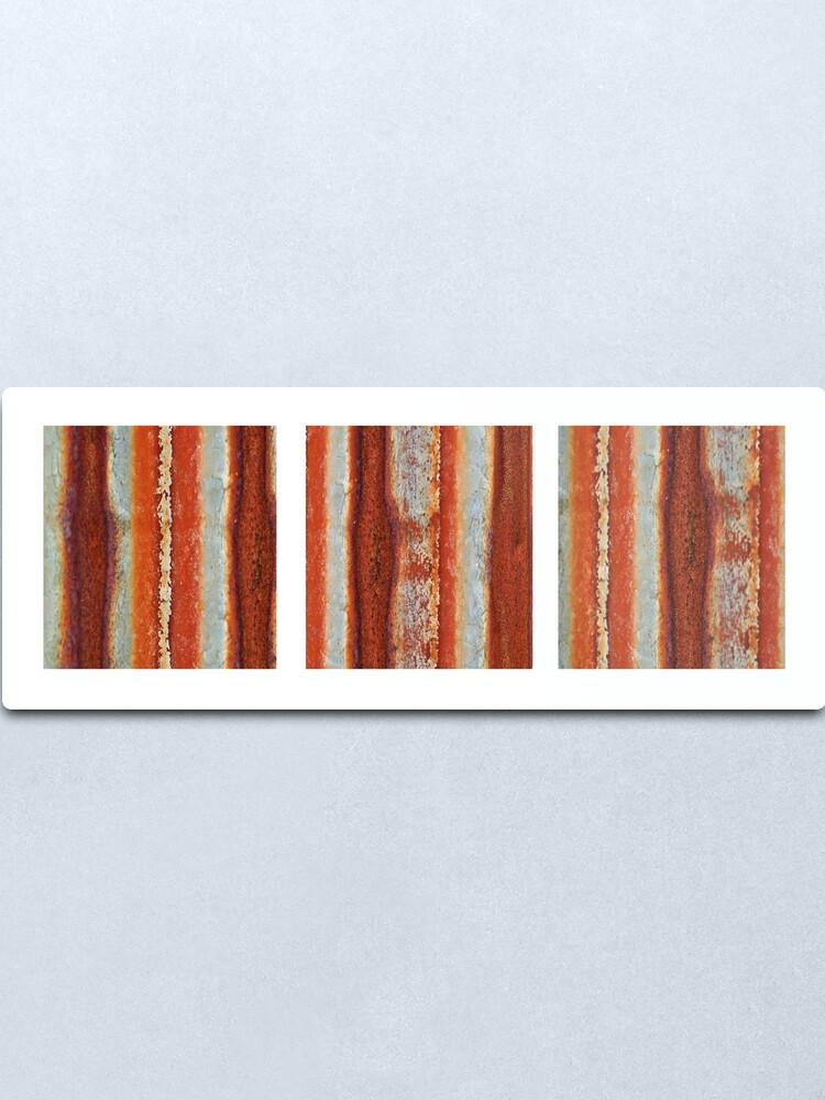 Alternate view of Rivers of Rust Metal Print