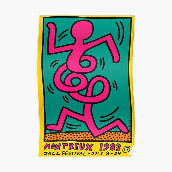 keith jaz montreux 83 Poster