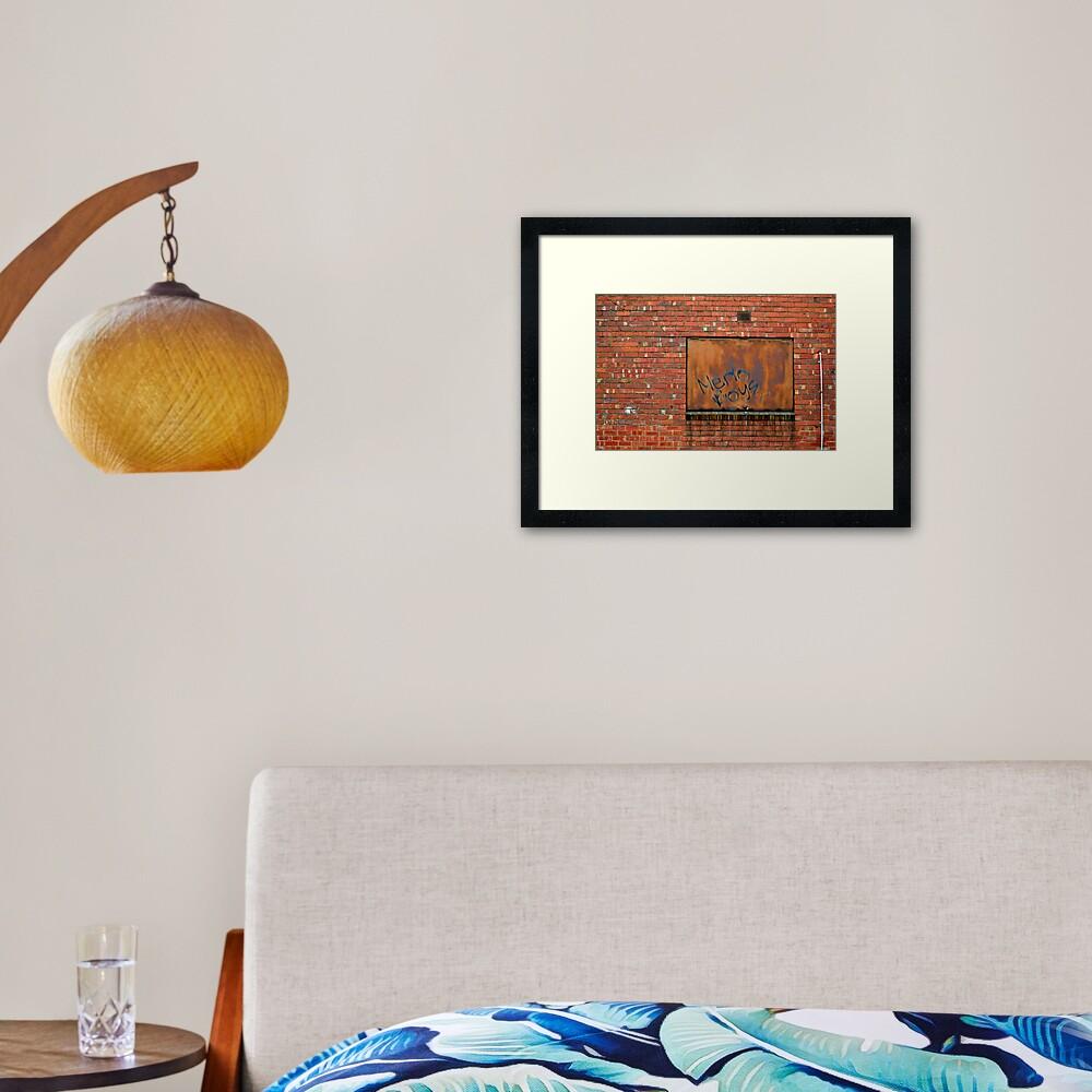 Merlo Boys... Framed Art Print