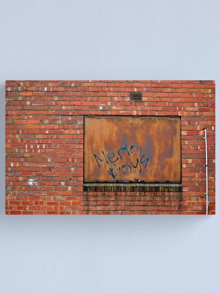 Alternate view of Merlo Boys... Canvas Print