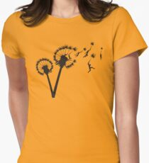 Camiseta entallada para mujer Dandylion People Flight
