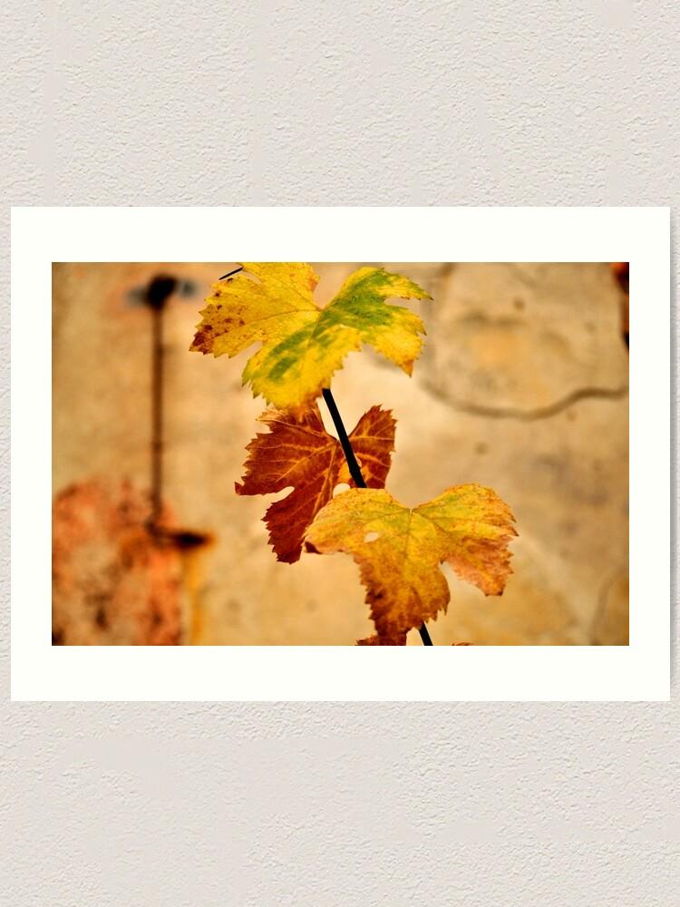 Alternate view of Autumnal Art Print