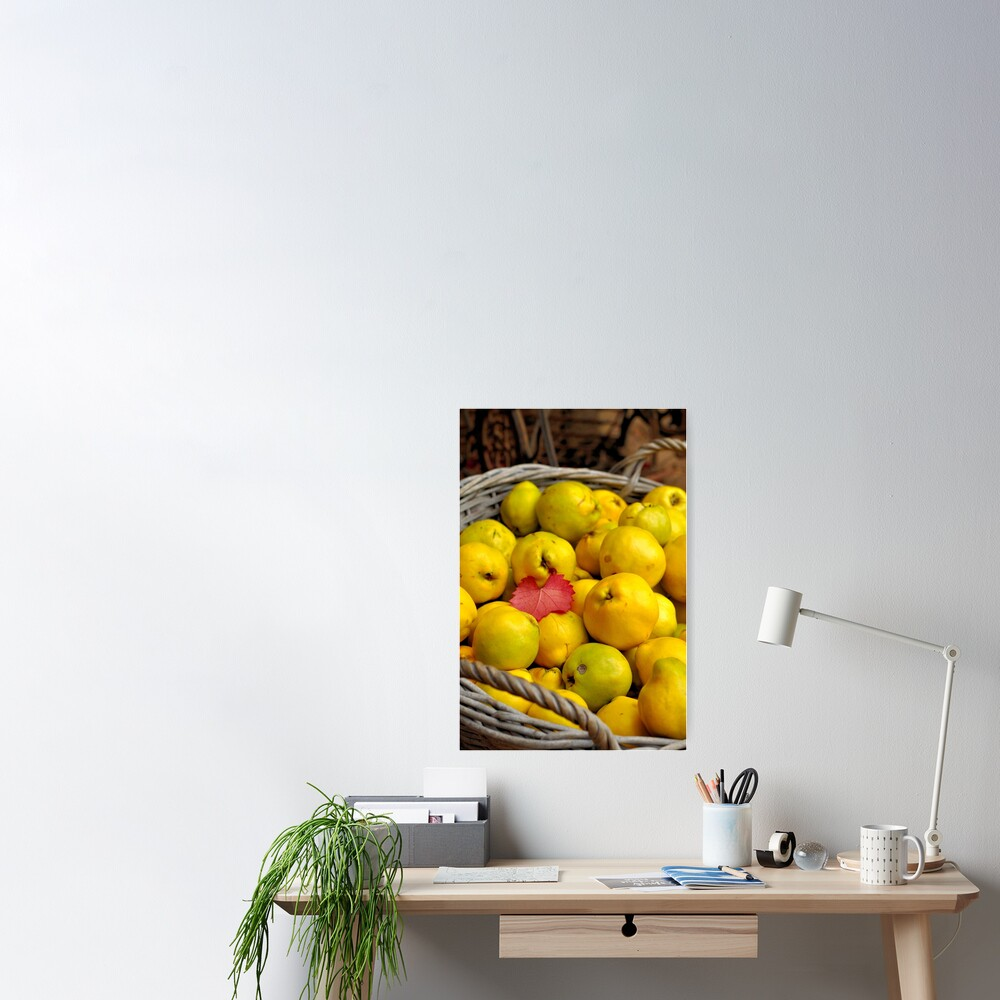 Basketful of Autumn Poster
