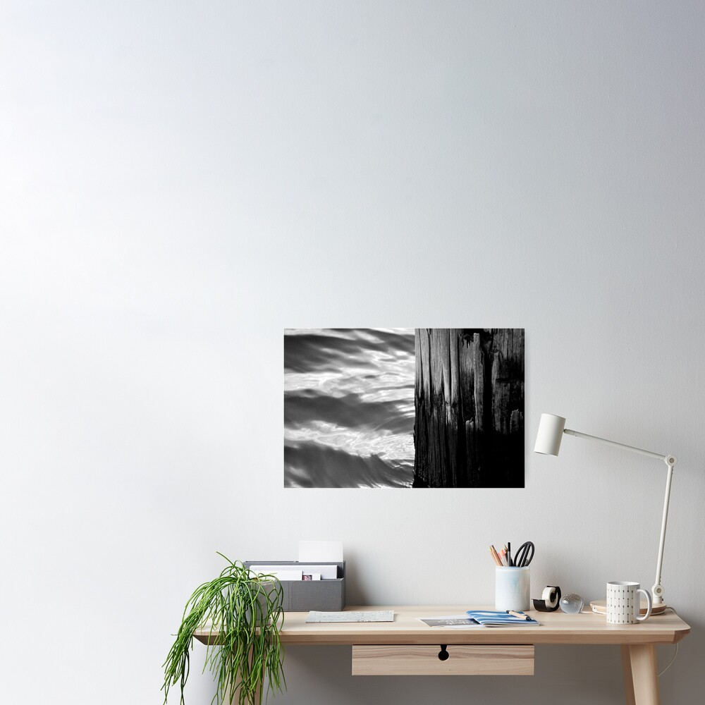Wood & Water Poster