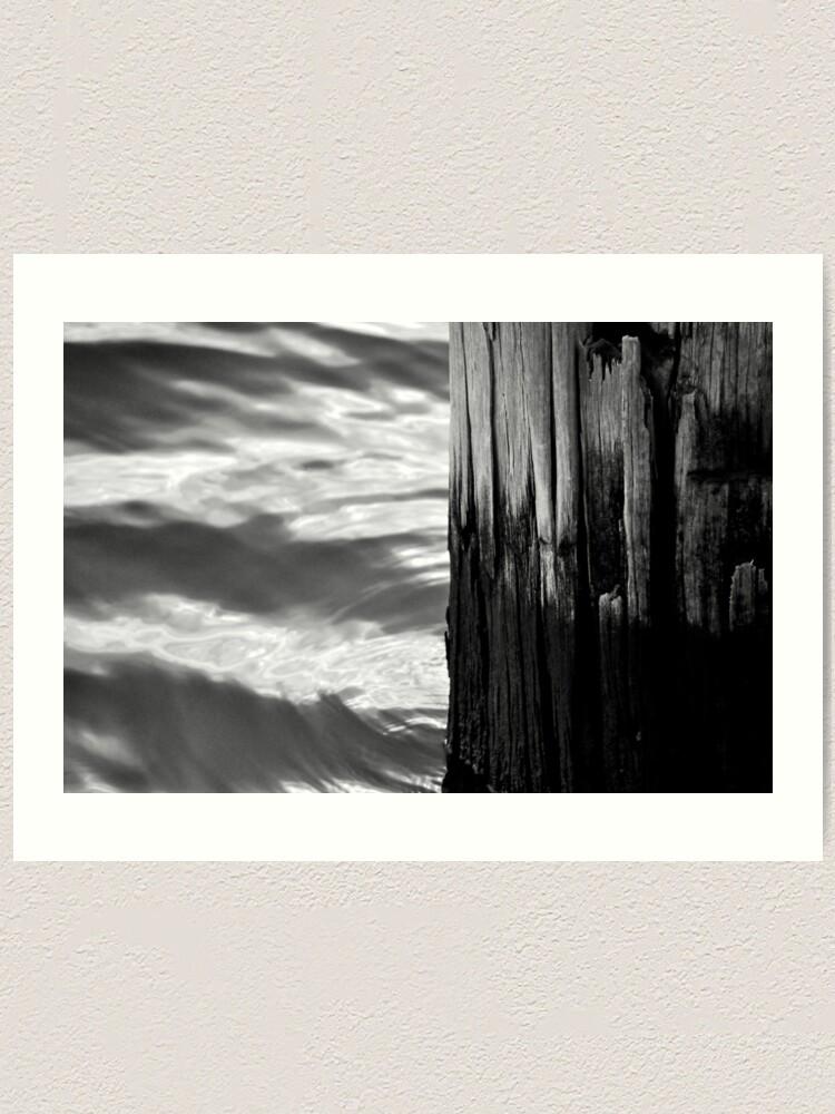 Alternate view of Wood & Water Art Print